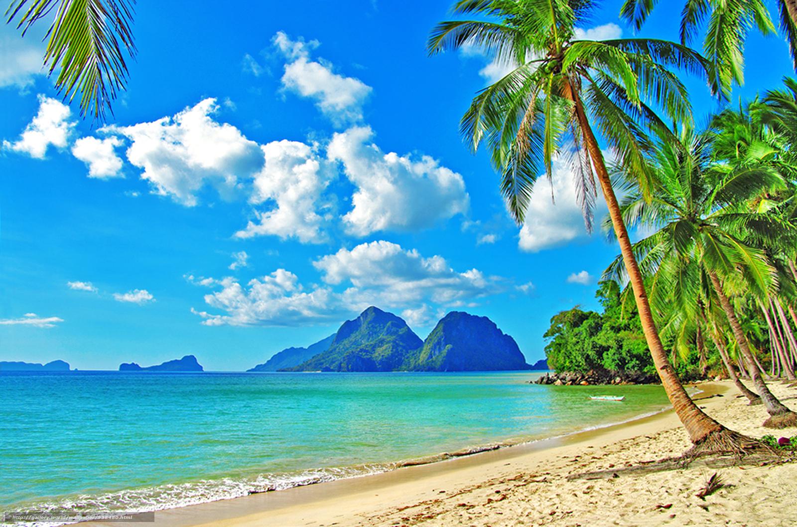 scaricare gli sfondi tropici mare spiaggia sfondi gratis