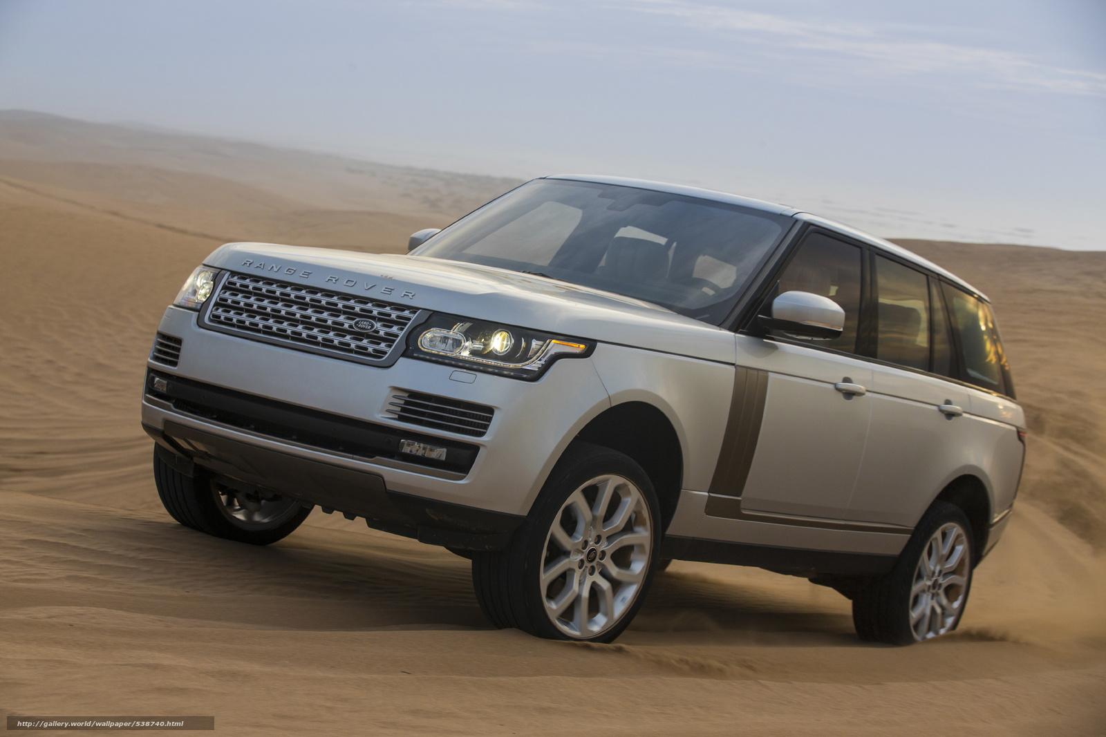 Tlcharger Fond D Ecran 2013 Land Rover Range Rover Fonds