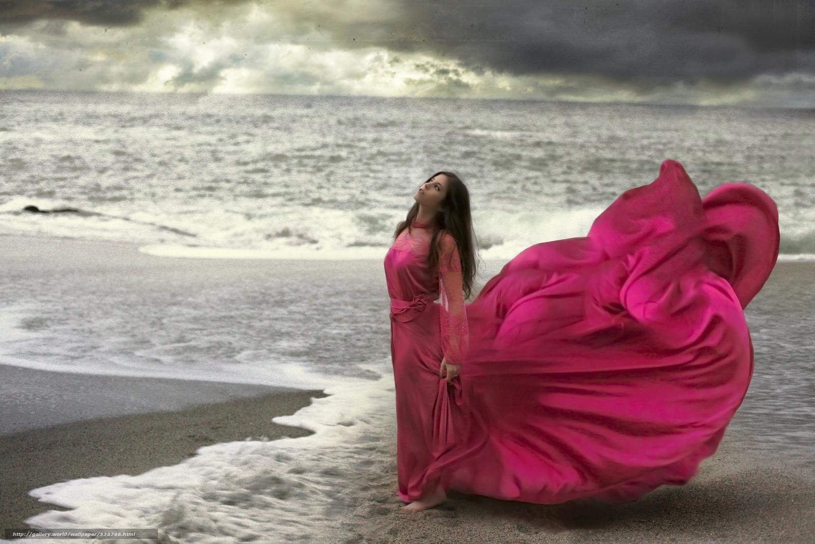 Фото на аву девушек в длином платье