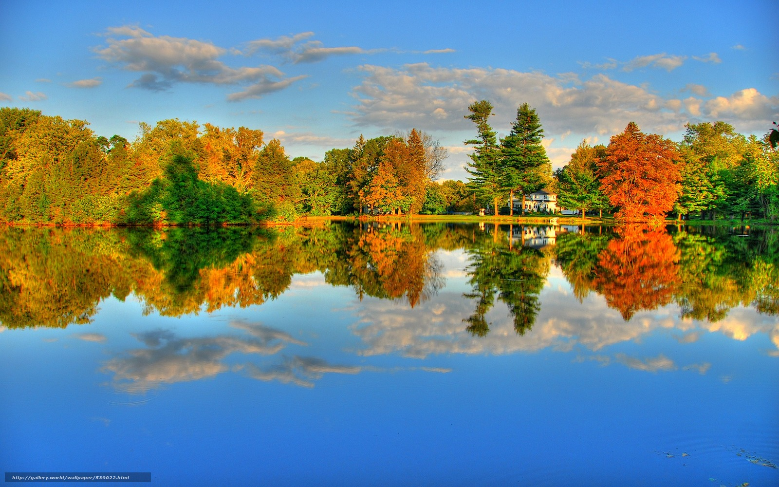Download wallpaper Guilford pond,  Strawberry Hollow Farms,  Guilford,  New Haven County free desktop wallpaper in the resolution 1920x1200 — picture №539022