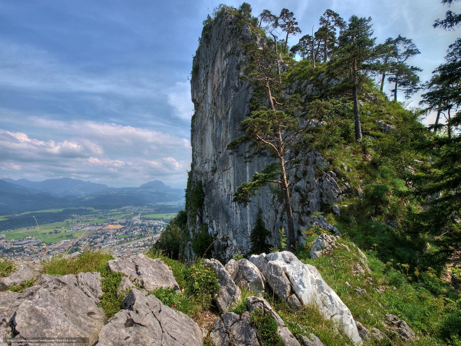 Скачать обои Austria,  горы,  скала,  деревья бесплатно для рабочего стола в разрешении 3616x2712 — картинка №539526