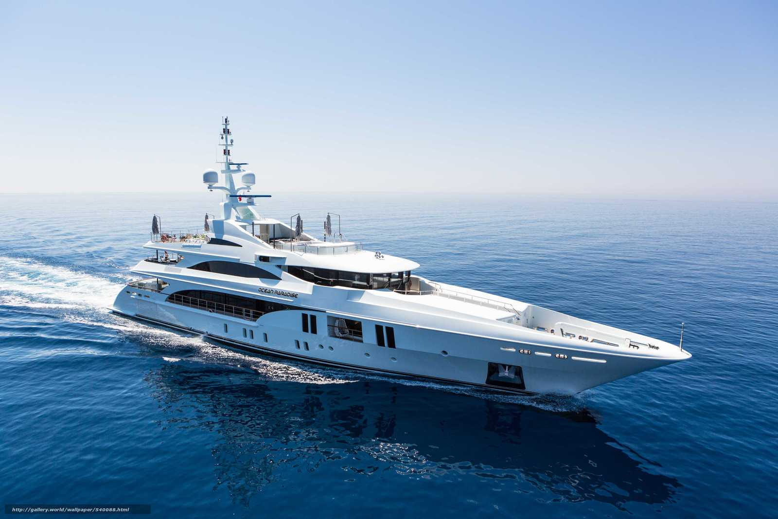 Download wallpaper Benetti,  Open,  Paradise,  yacht free desktop wallpaper in the resolution 5760x3840 — picture №540088