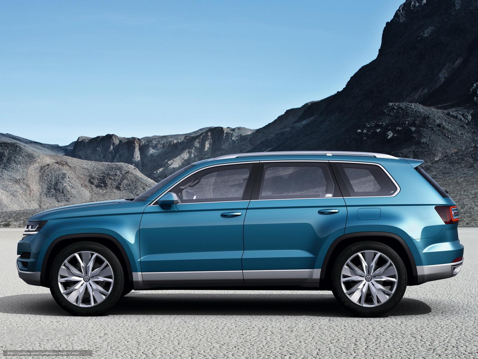 scaricare gli sfondi Volkswagen,  CrossBlue,  concetto,  2013 Sfondi gratis per la risoluzione del desktop 2048x1536 — immagine №540527