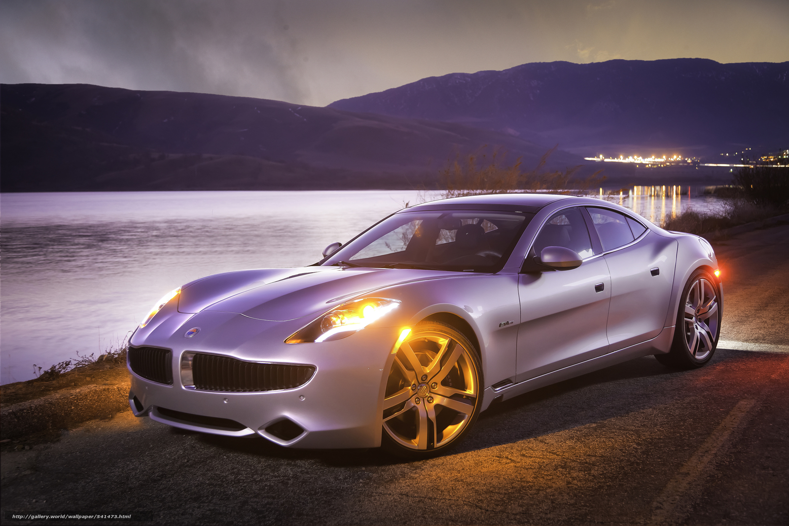 Download wallpaper Fisker,  Karma,  2012 free desktop wallpaper in the resolution 2362x1575 — picture №541473