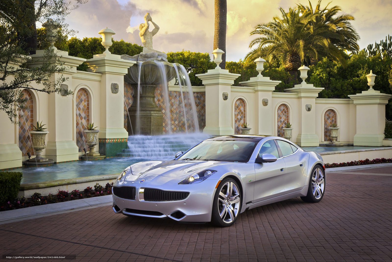 Download wallpaper Fisker,  Karma,  2012 free desktop wallpaper in the resolution 2362x1575 — picture №541480