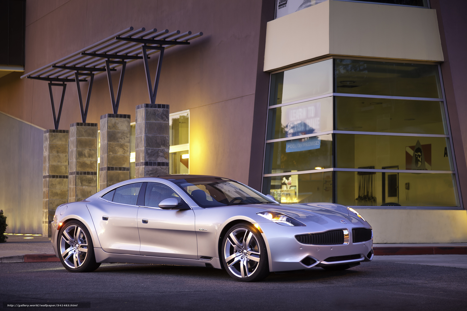 Download wallpaper Fisker,  Karma,  2012 free desktop wallpaper in the resolution 2779x1853 — picture №541483