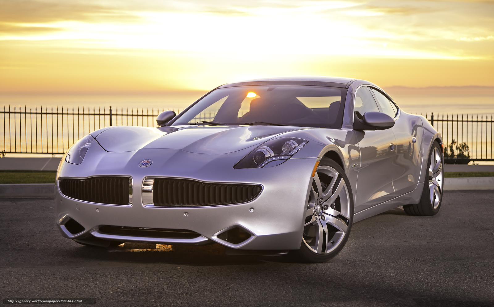 Download wallpaper Fisker,  Karma,  2012 free desktop wallpaper in the resolution 2808x1745 — picture №541484