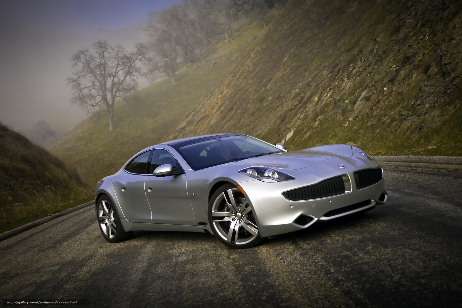 Download wallpaper Fisker,  Karma,  2012 free desktop wallpaper in the resolution 2677x1785 — picture №541486