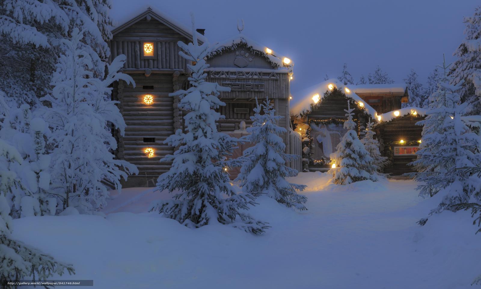 下载壁纸 圣诞老人村,  库赫莫,  芬兰,  库赫莫 免费为您的桌面分辨率的壁纸 6031x3624 — 图片 №541740