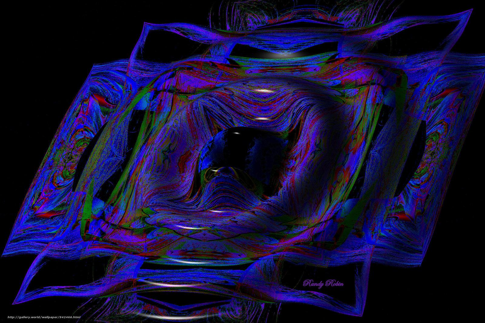 Скачать обои абстракция,  3d,  art бесплатно для рабочего стола в разрешении 3000x2000 — картинка №542466