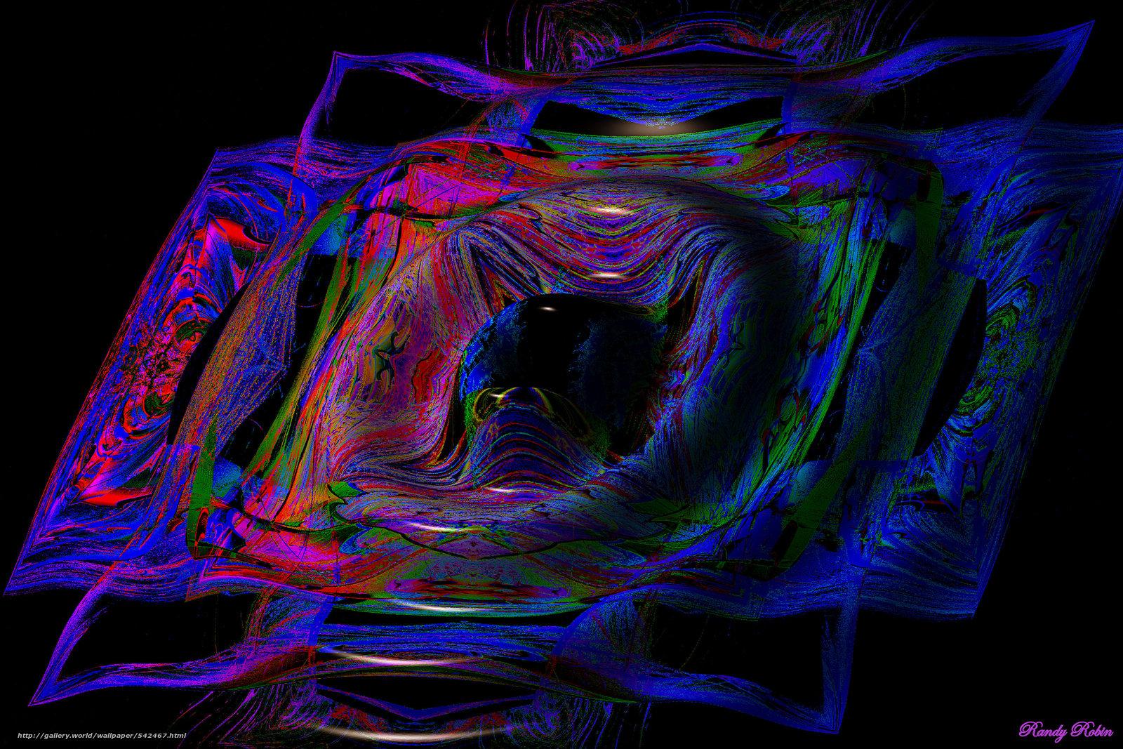 Descargar gratis abstracción,  3d,  arte Fondos de escritorio en la resolucin 3000x2000 — imagen №542467