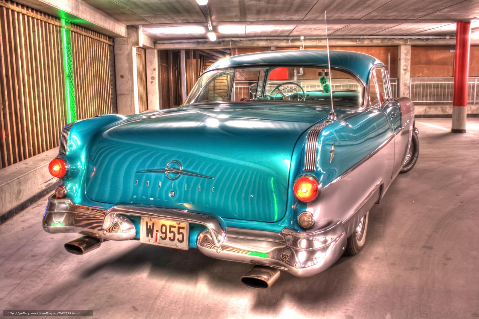 Download Wallpaper Oldies Goldies Pontiac Machine Car
