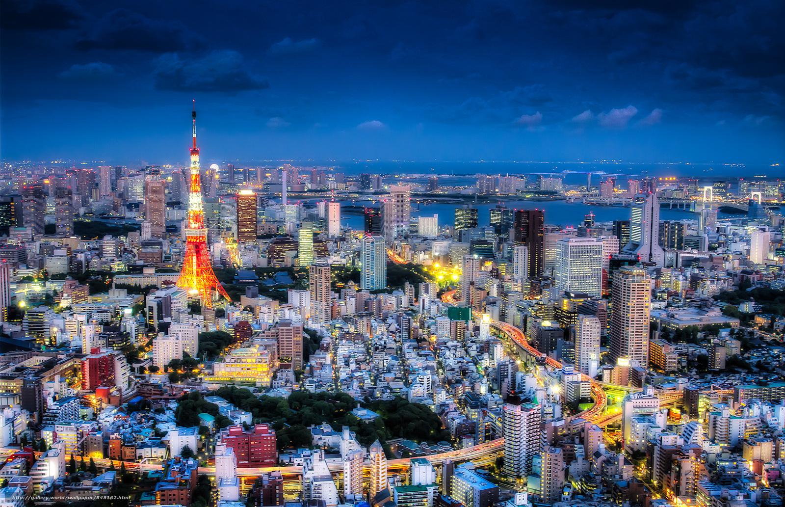 Descargar gratis Tokyo,  Japón,  ciudad Fondos de escritorio en la resolucin 2048x1322 — imagen №543162