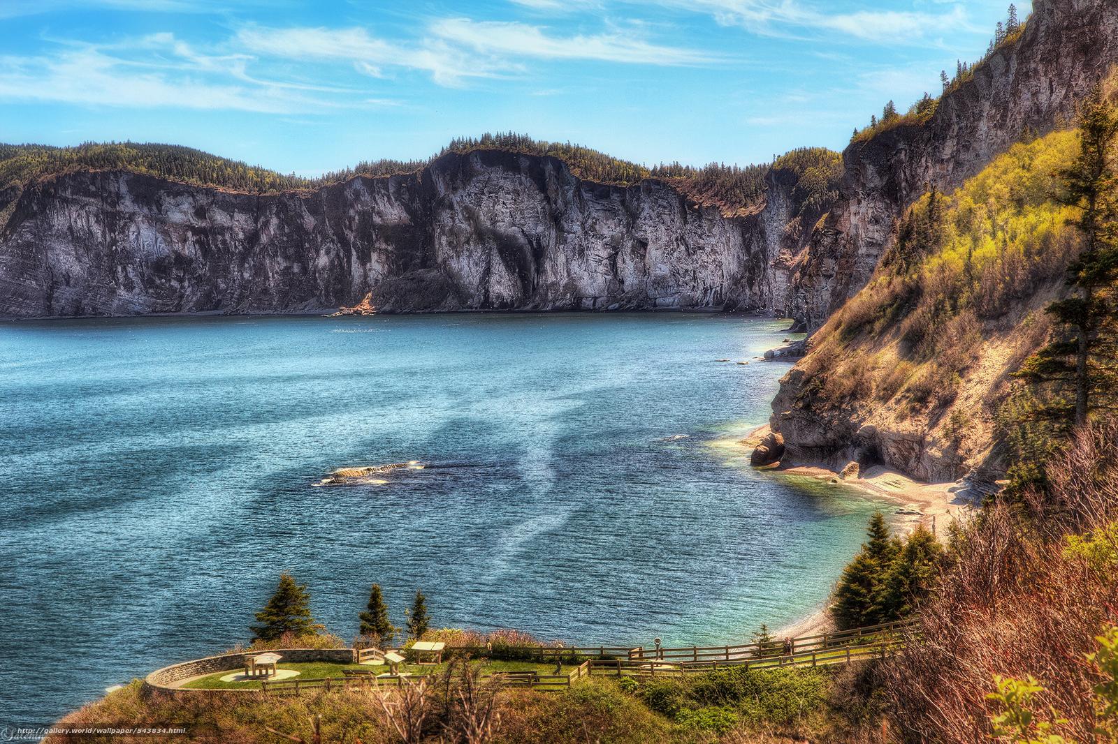 Download wallpaper Paradise,  Cape Bon-Ami,  Gaspe,  Quebec free desktop wallpaper in the resolution 2048x1365 — picture №543834