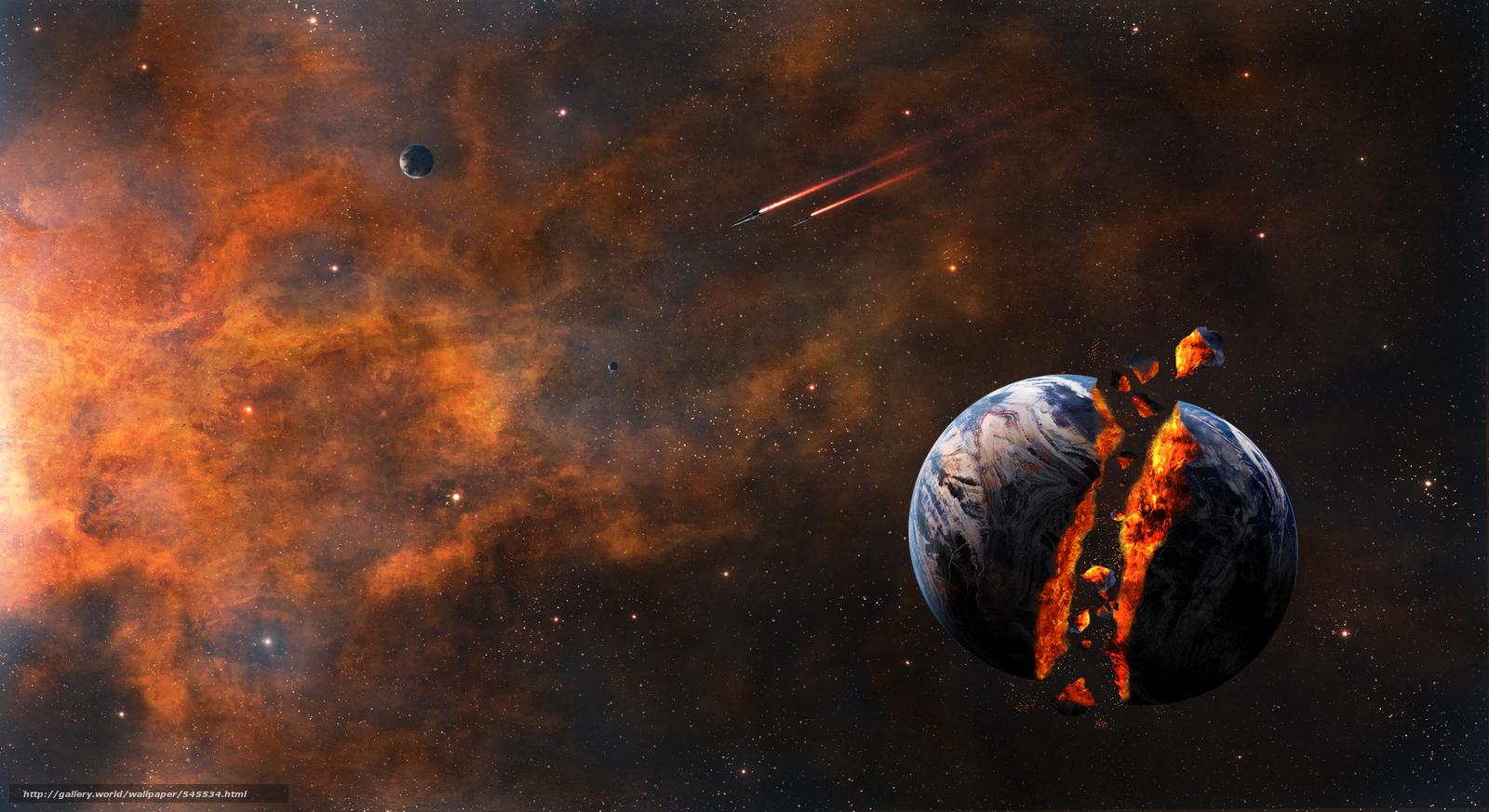 Download Hintergrund Weltraum,  3d,  art Freie desktop Tapeten in der Auflosung 2200x1200 — bild №545534