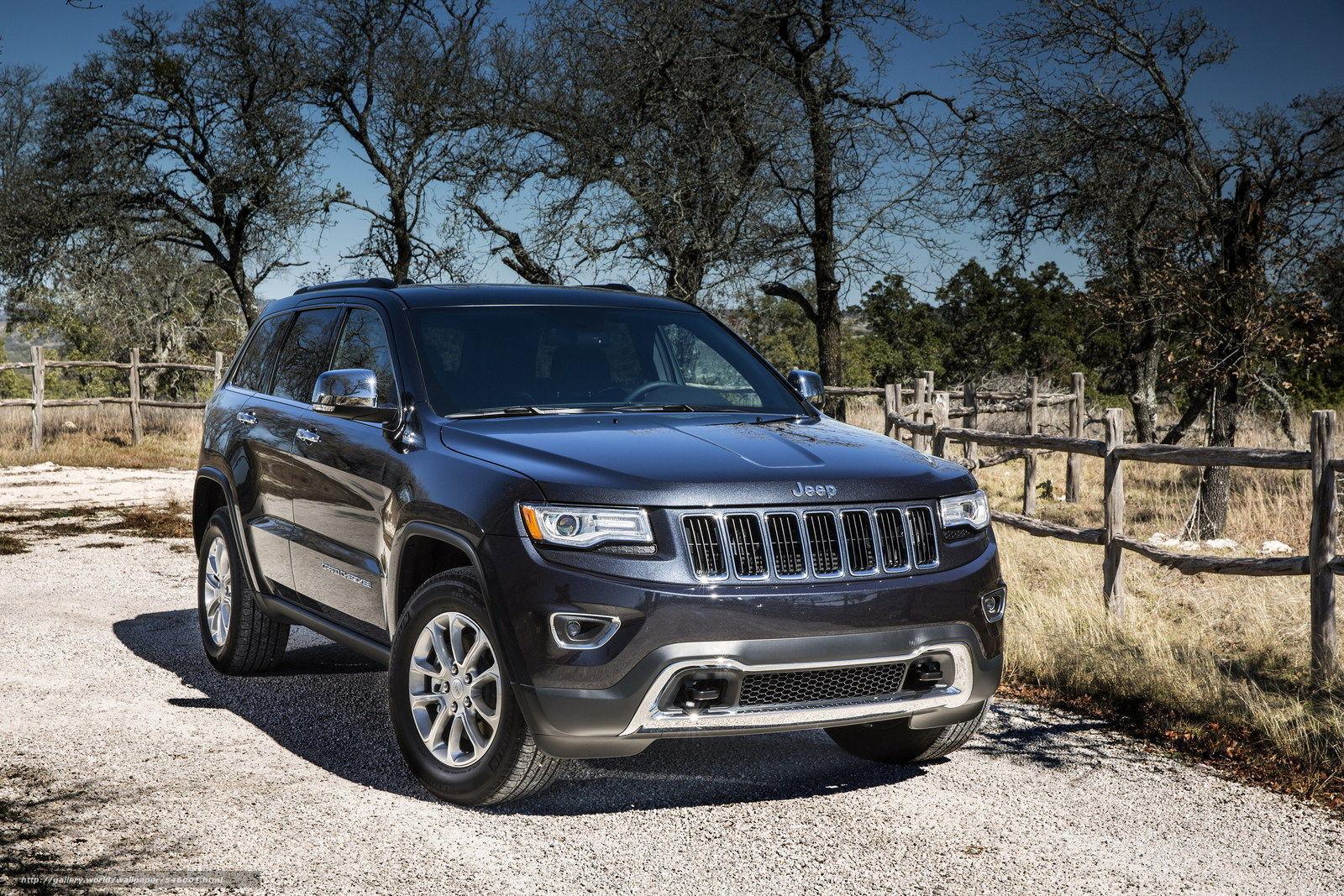 Скачать обои Jeep,  Grand Cherokee,  3.0 CRD,  Overland бесплатно для рабочего стола в разрешении 1600x1067 — картинка №546001