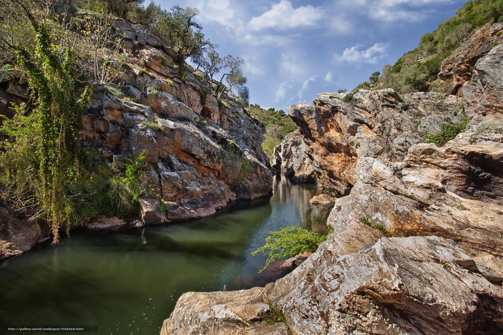 Tlcharger fond d 39 ecran canyon rivi re roches portugal for Fond ecran portugal