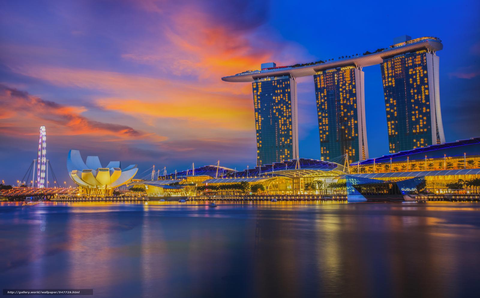 download hintergrund singapur stadt beleuchtung freie desktop tapeten in der auflosung. Black Bedroom Furniture Sets. Home Design Ideas