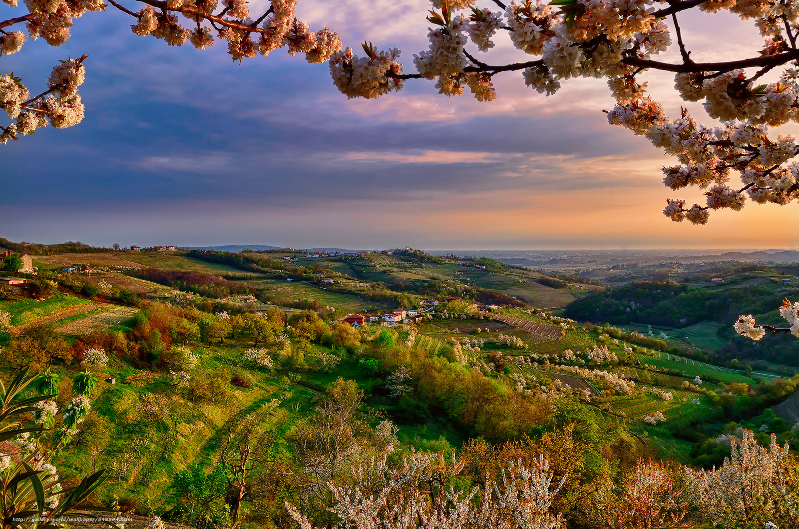 Scaricare gli sfondi lombardia collio italia primavera for Sfondi desktop gratis primavera