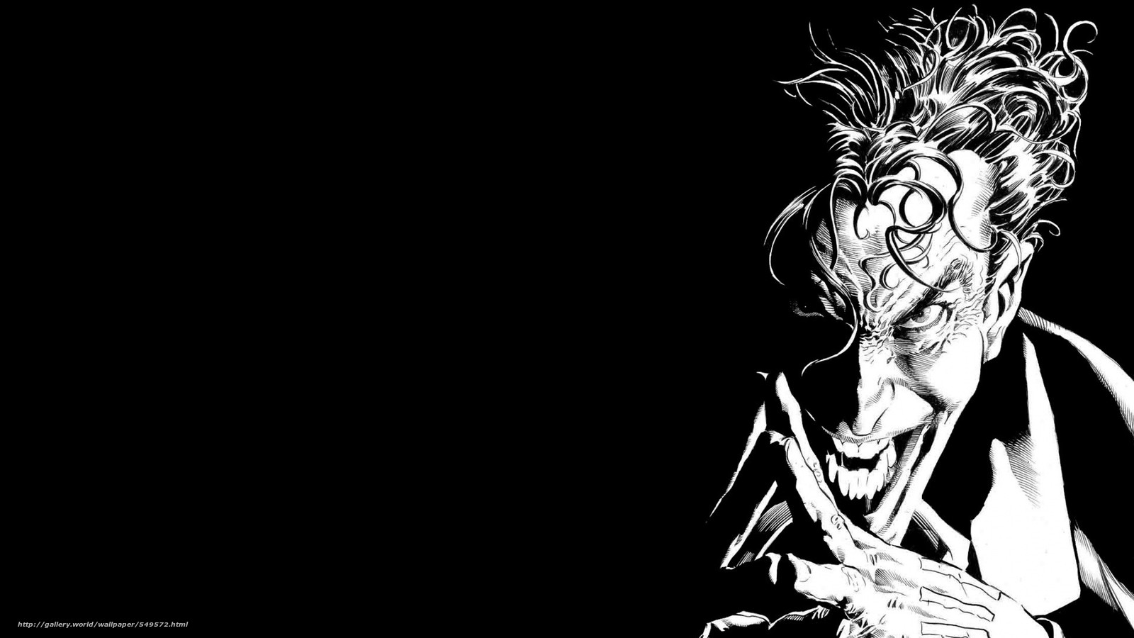 Download wallpaper art,  Batman,  joker,  Dark Knight free desktop wallpaper in the resolution 1920x1080 — picture №549572