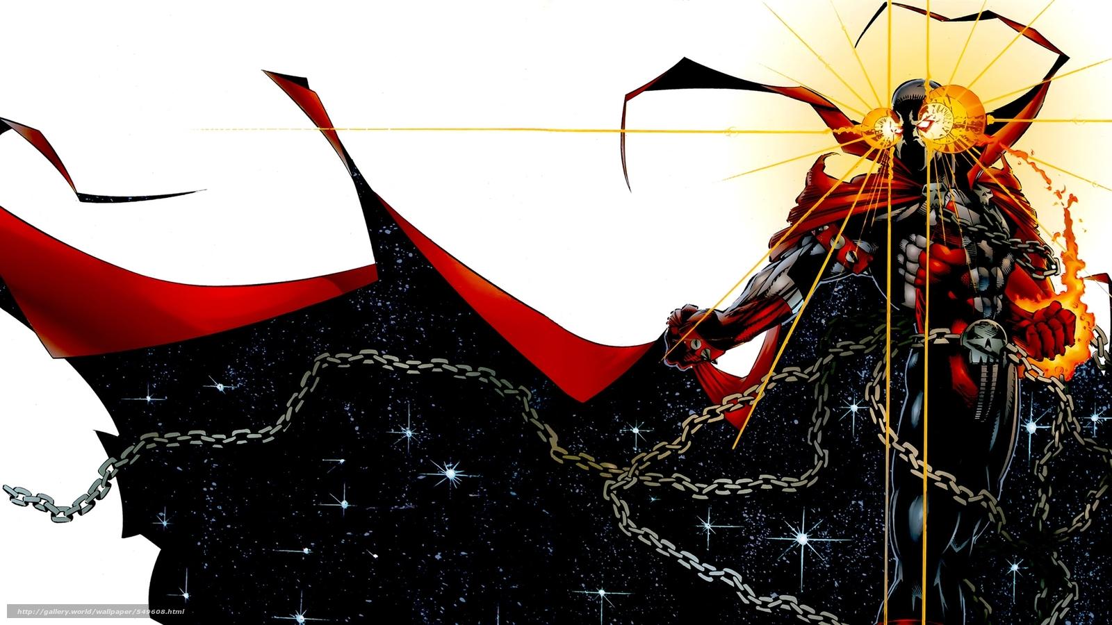 Download wallpaper art,  Spawn,  Spawn,  demon free desktop wallpaper in the resolution 1920x1080 — picture №549608