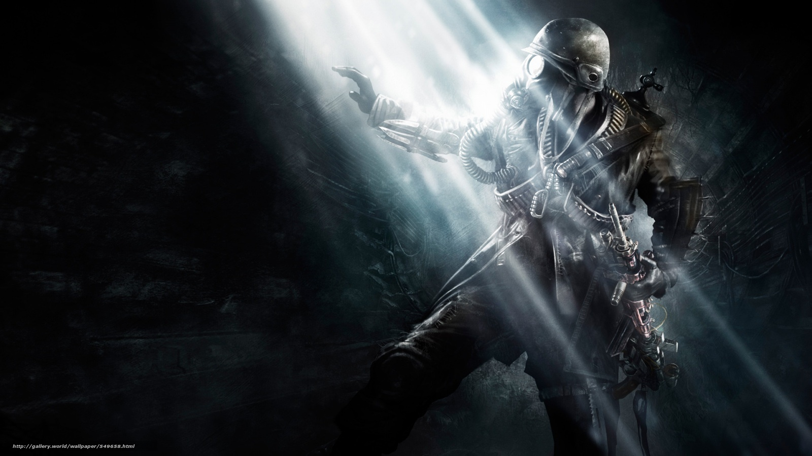 Download wallpaper metro last light,  games,  soldier free desktop wallpaper in the resolution 1600x900 — picture №549658