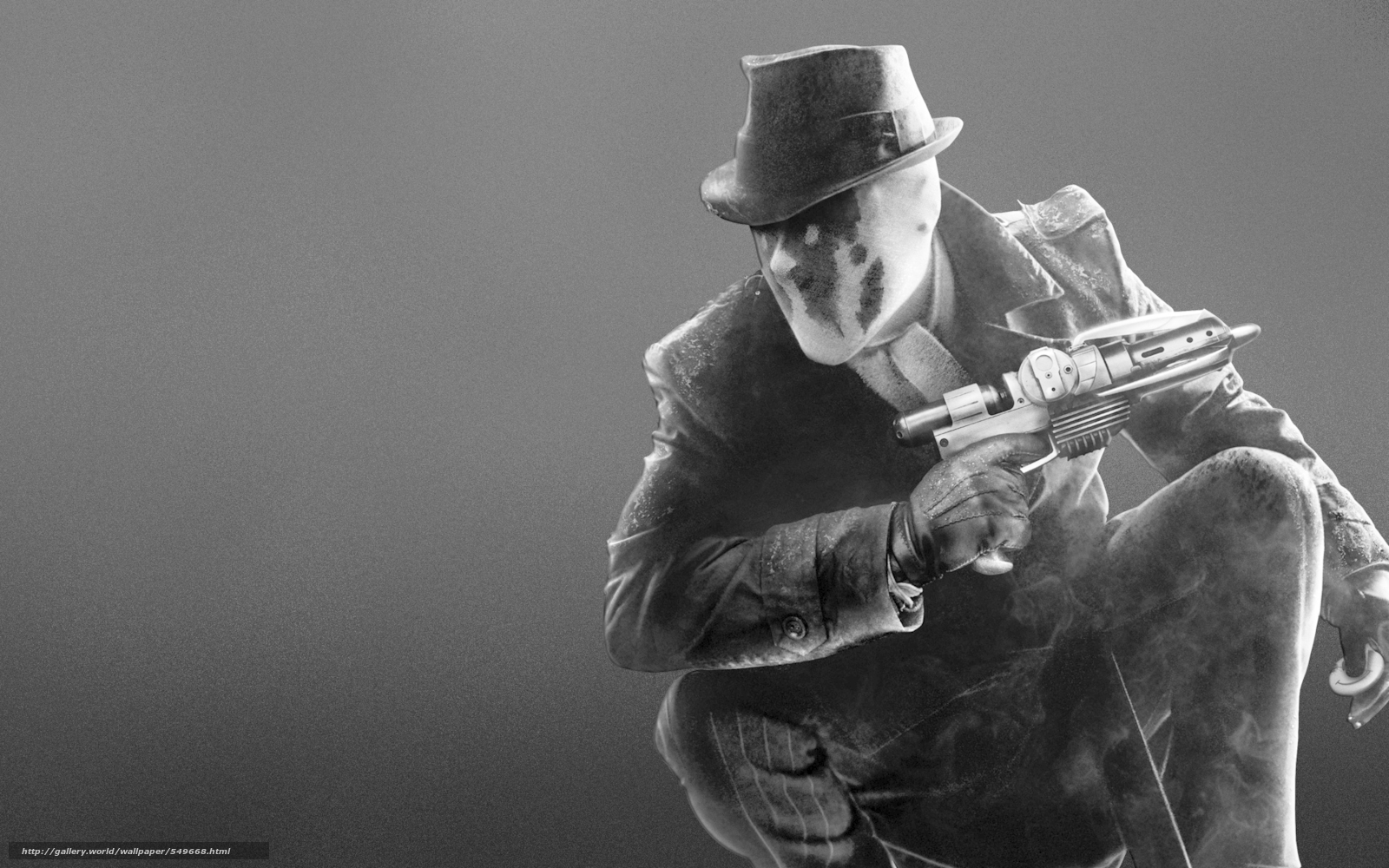 Download wallpaper watchman, Rorschach