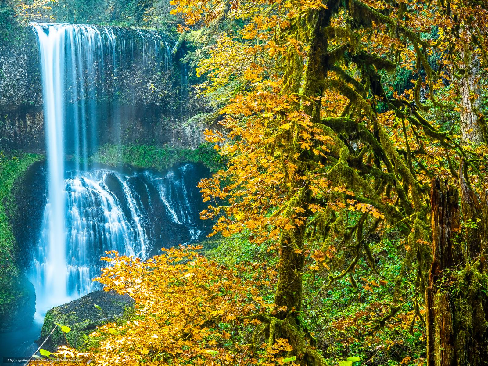 Tlcharger Fond d'ecran automne,  cascade,  arbres,  paysage Fonds d'ecran gratuits pour votre rsolution du bureau 4608x3456 — image №549874