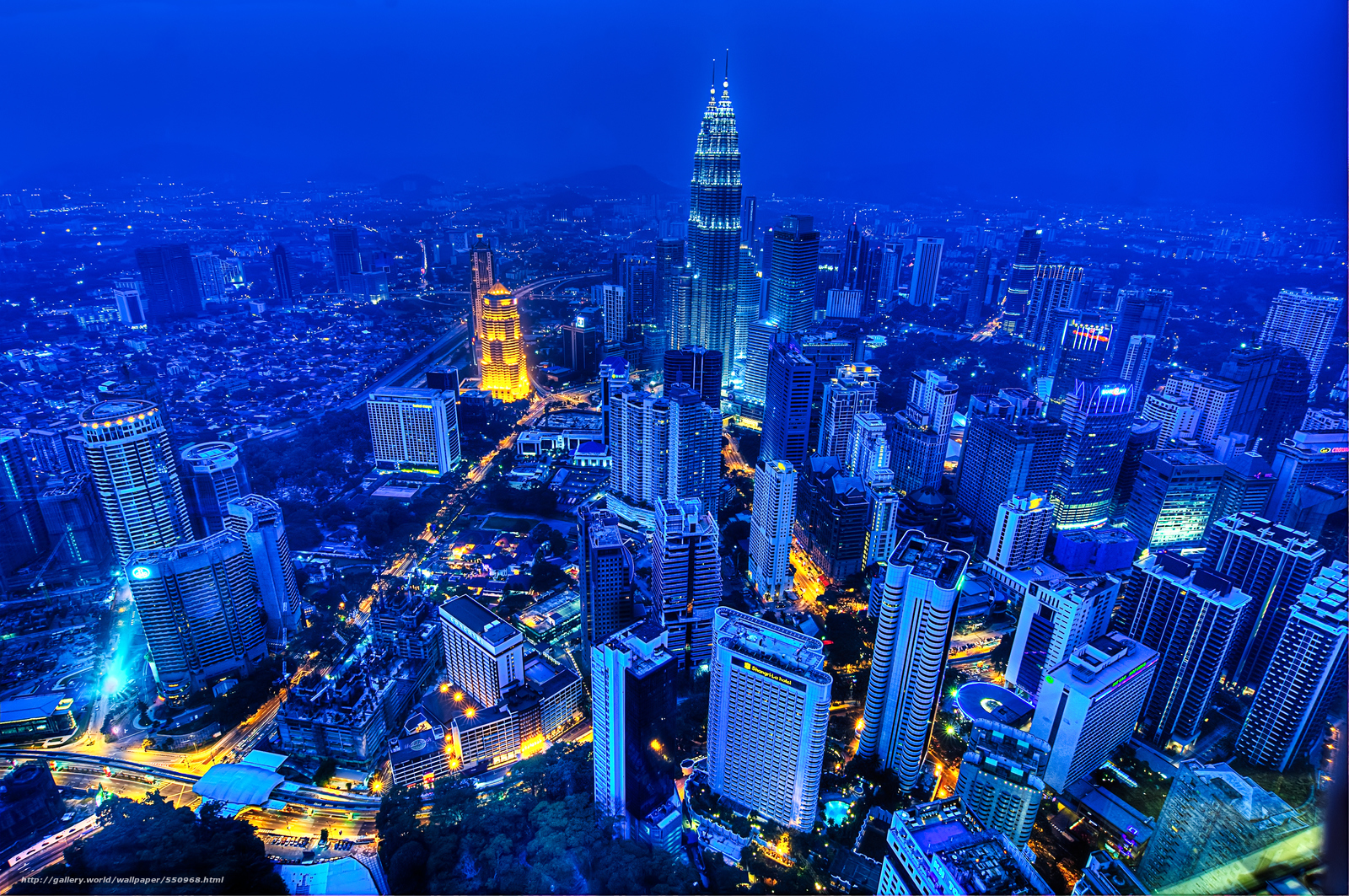 Download wallpaper kuala lumpur,  malaysia,  city,  night free desktop wallpaper in the resolution 4288x2848 — picture №550968