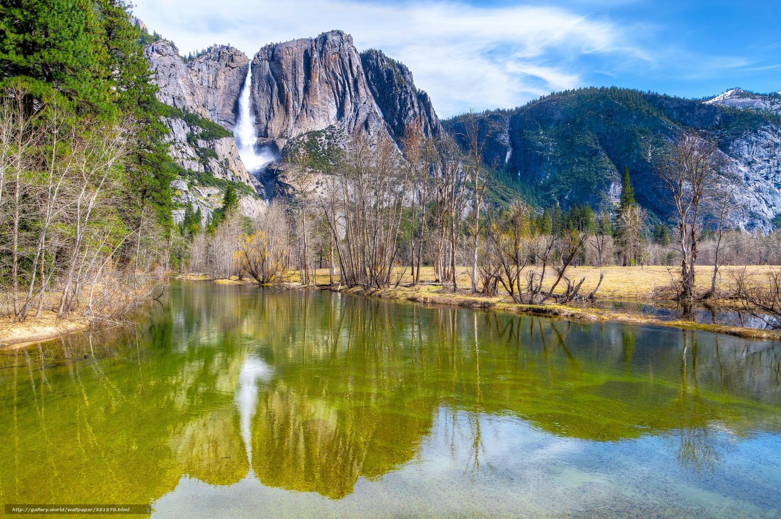 Descargar Gratis Parque Nacional De Yosemite Sierra Nevada