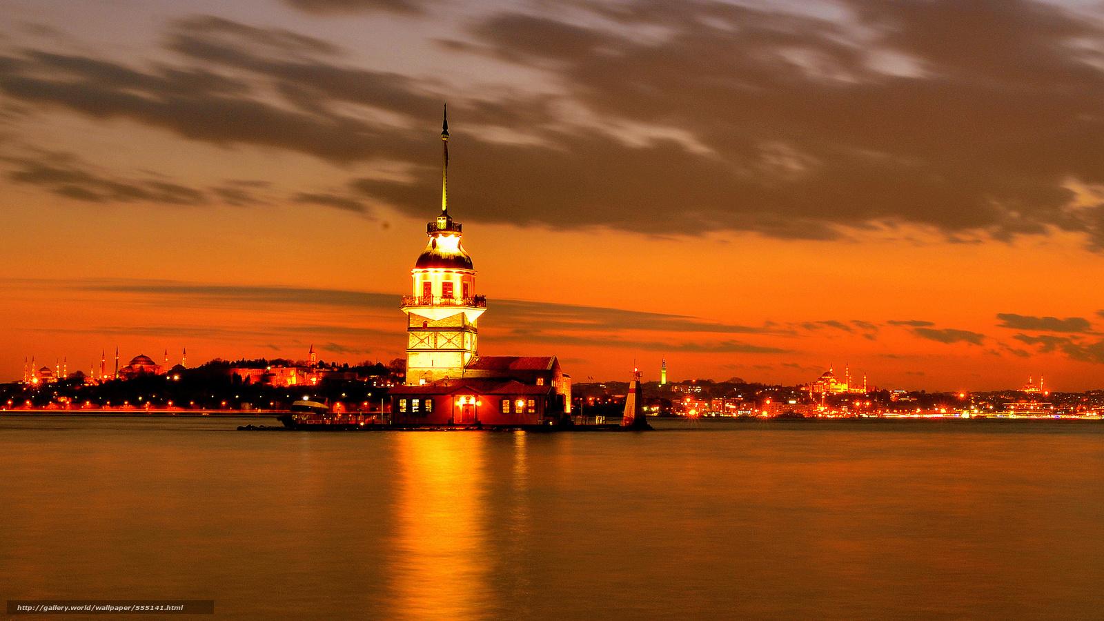 Tlcharger fond d 39 ecran istanbul istanbul nuit d troit for Bureau fond d ecran