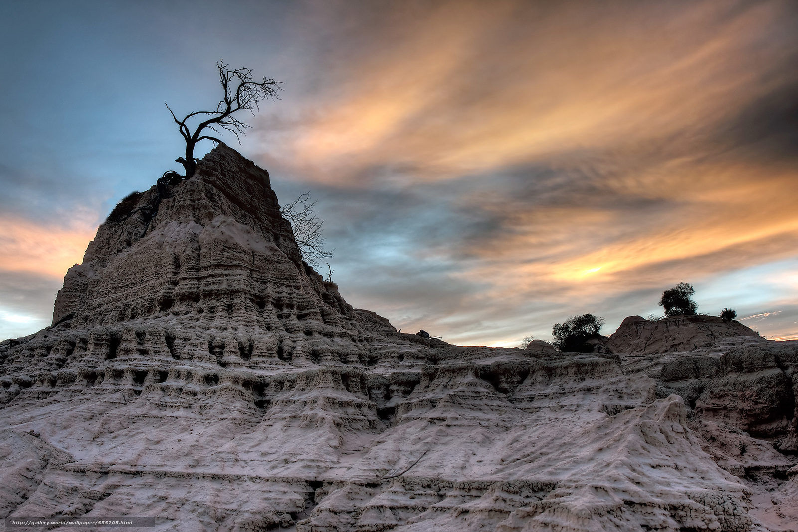 Mungo National Park Australia  city photo : Download wallpaper Mungo National Park, australia, sunset free desktop ...