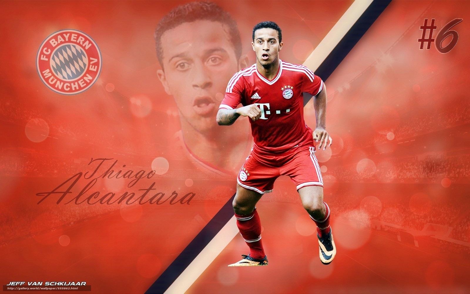 Download Hintergrund Fussball Bayern Munchen Thiago