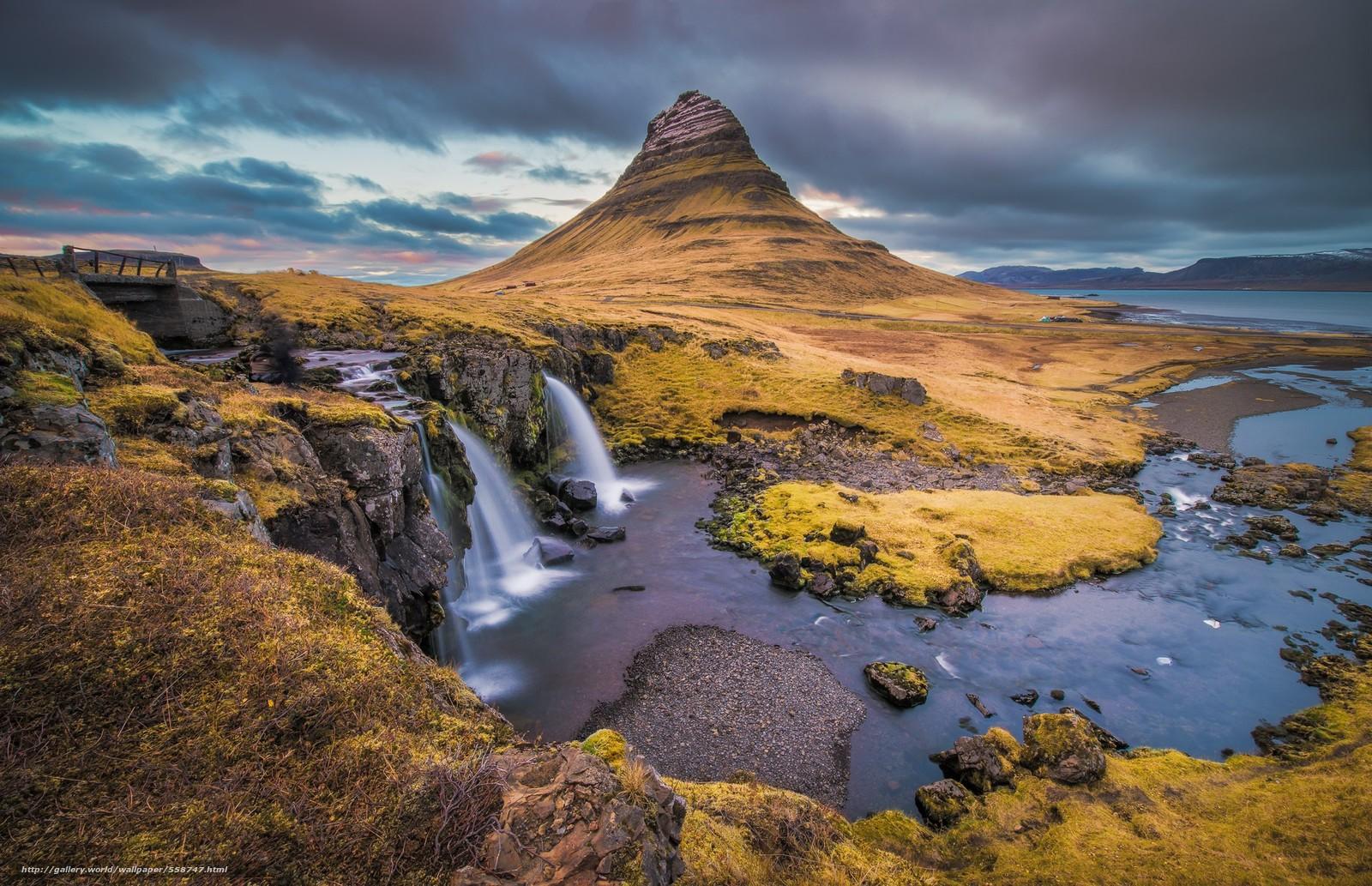 Descargar gratis Grundarfordur,  Montaña Kirkjufell,  Islandia Fondos de escritorio en la resolucin 2048x1322 — imagen №558747