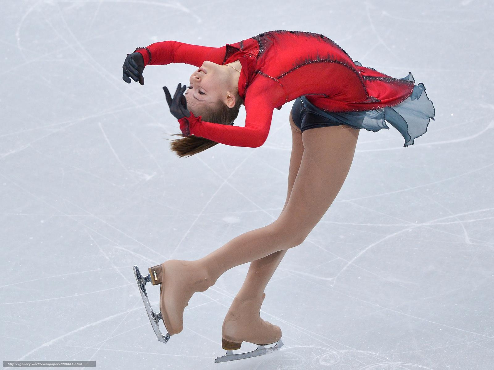 ice skating desktop wallpaper