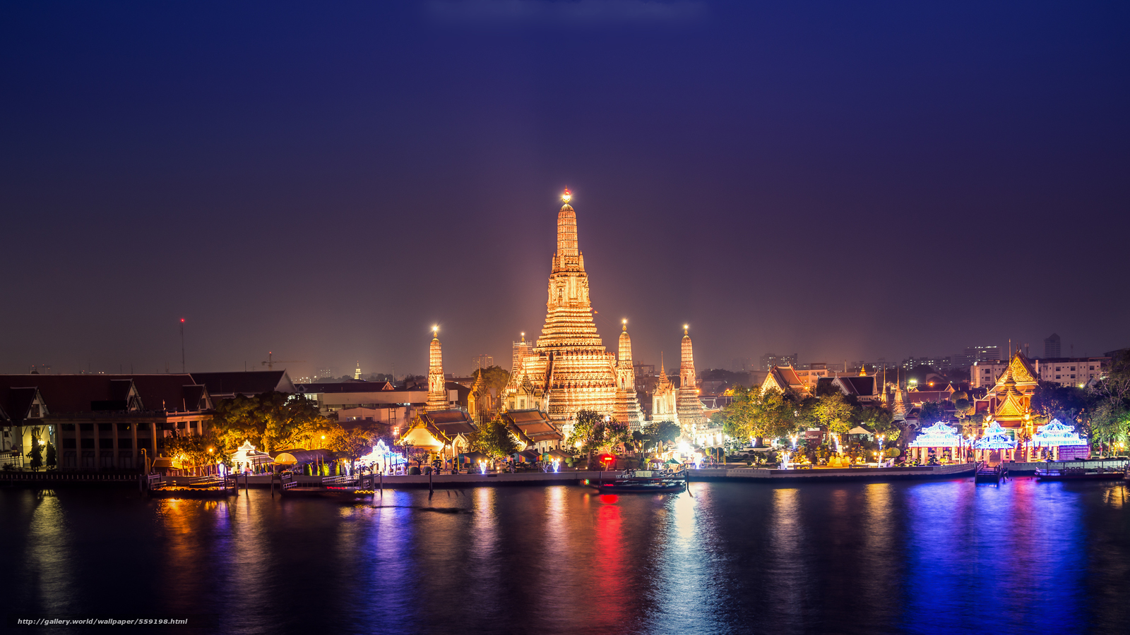 Download wallpaper bangkok sunset thailand free desktop for Thai wallpaper gallery