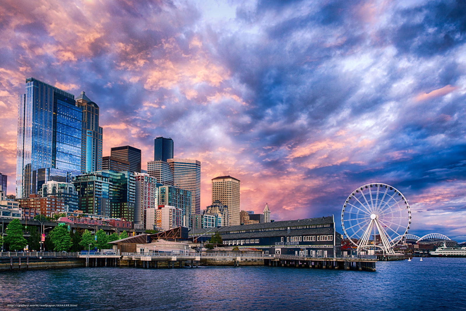 sunset on the seattle - photo #41