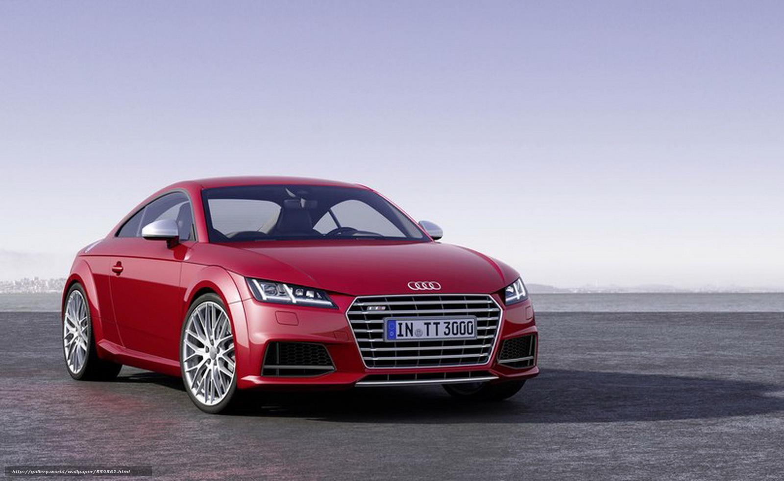 Download wallpaper audi,  TT,  Audi,  red free desktop wallpaper in the resolution 1800x1106 — picture №559561