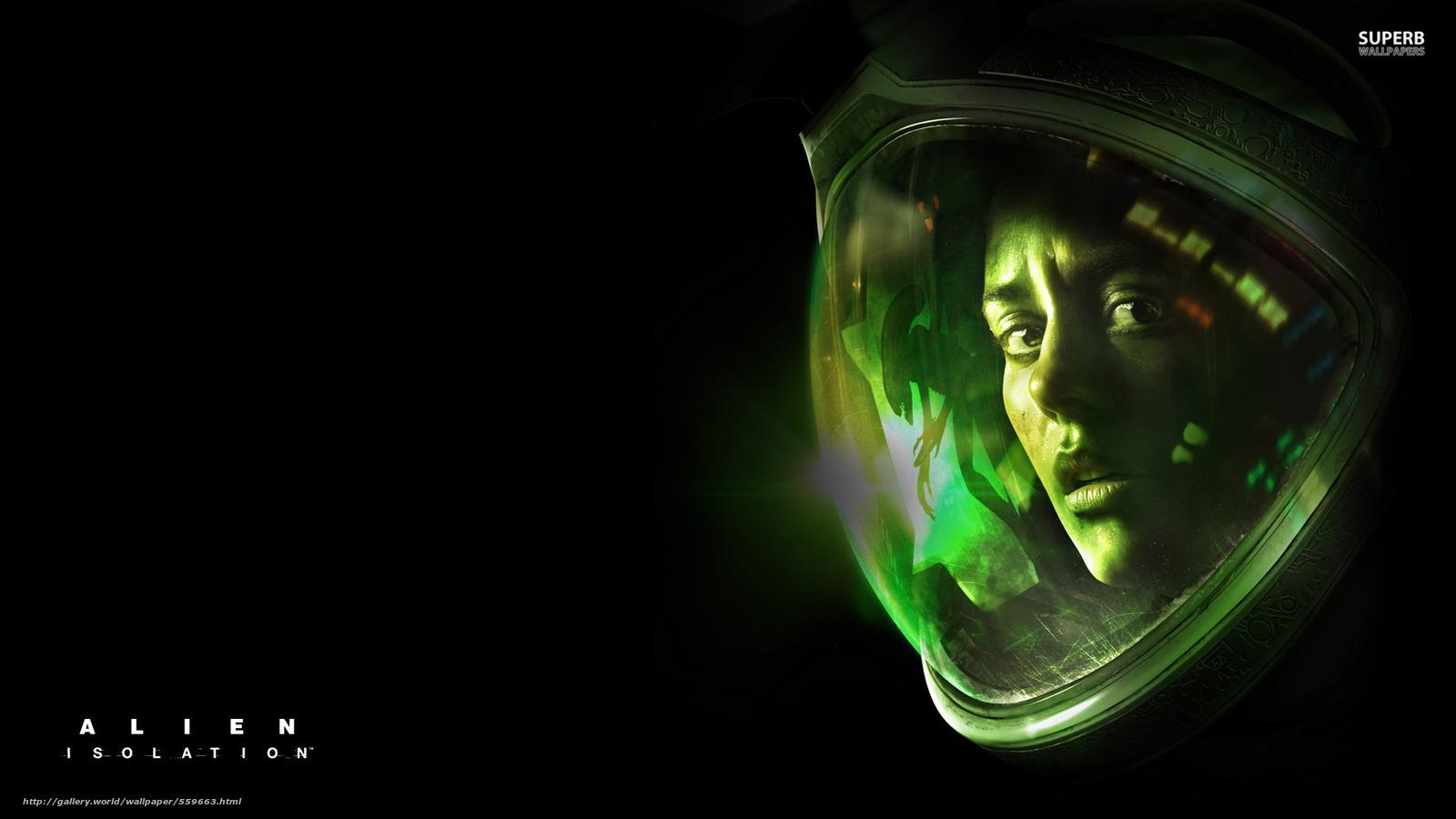 Download wallpaper Alien: Isolation,  games free desktop wallpaper in the resolution 1920x1080 — picture №559663