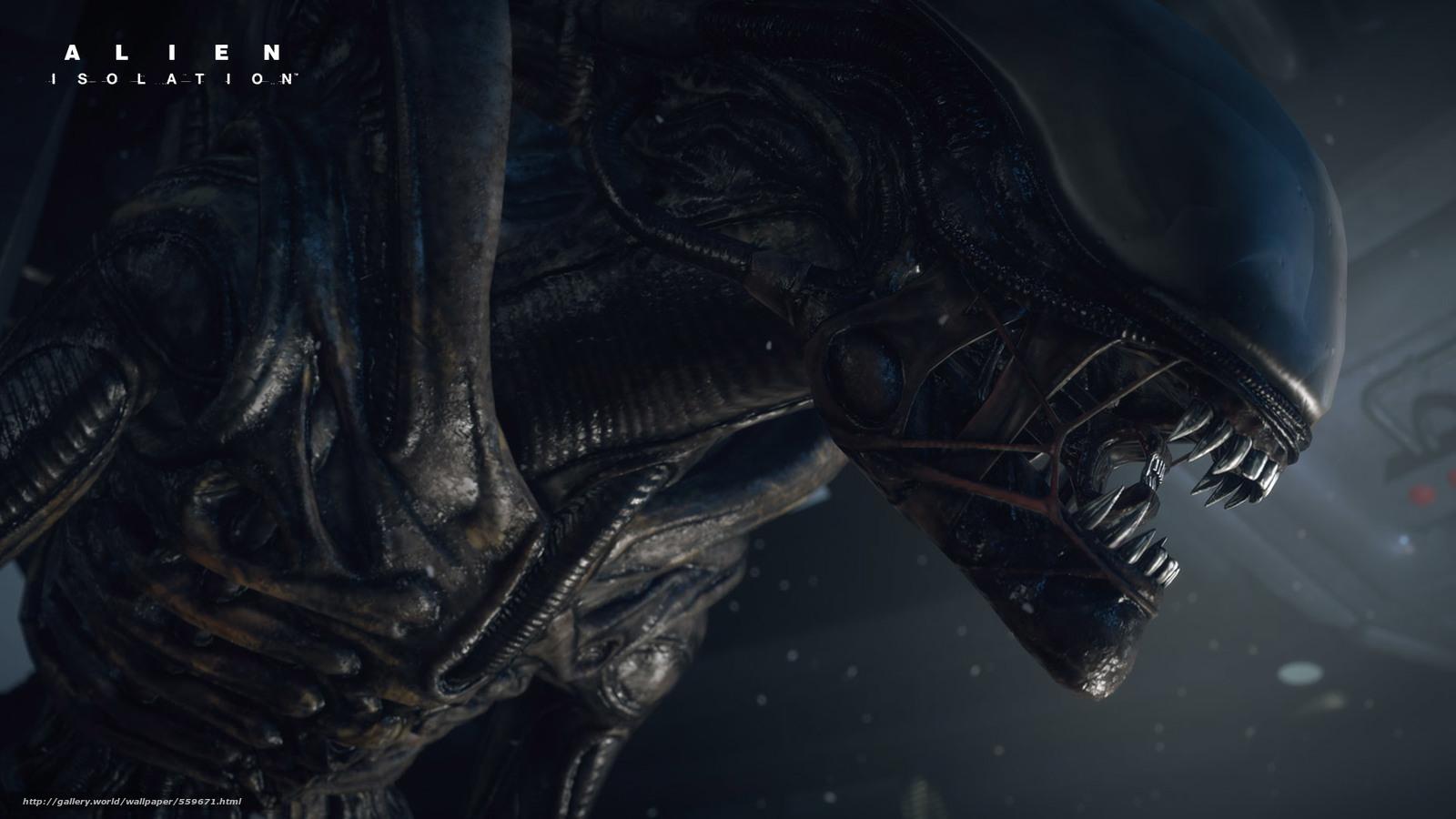 Download wallpaper Alien: Isolation,  games free desktop wallpaper in the resolution 1920x1080 — picture №559671