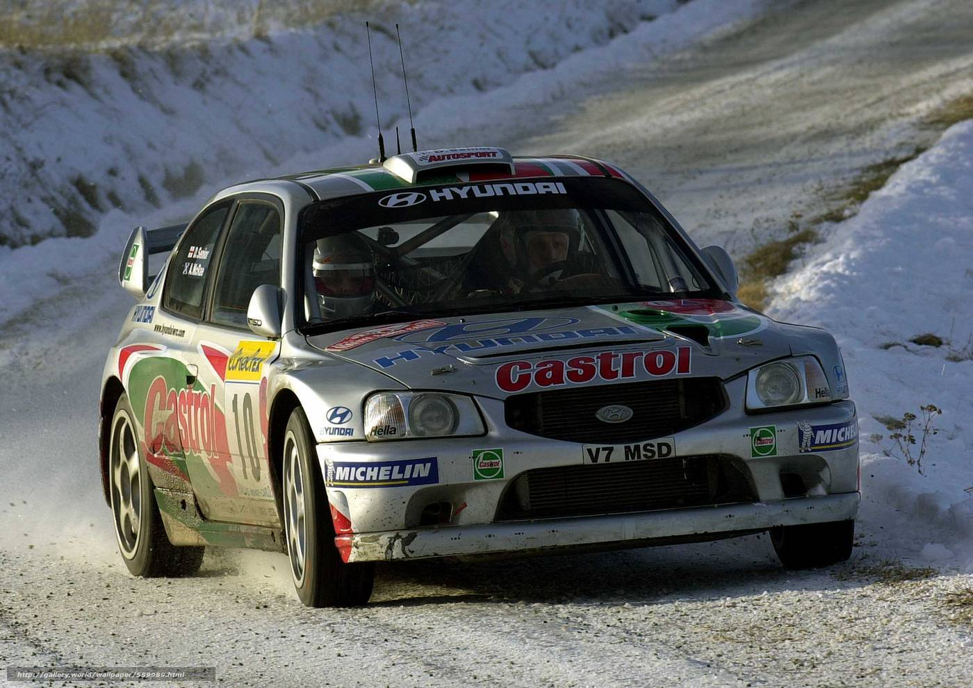 Download wallpaper wrc 2001 hyundai accent free desktop wallpaper in the resolution 1400x991 picture 559989