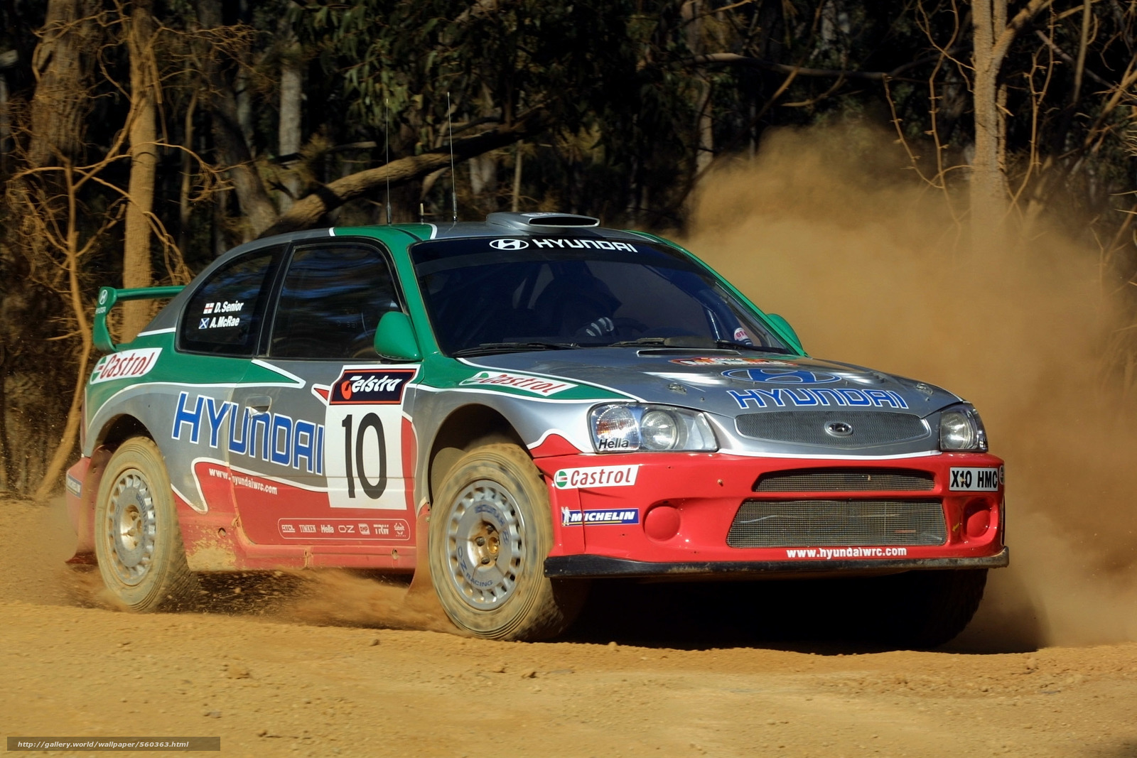 Download wallpaper hyundai accent wrc 2001 free desktop wallpaper in the resolution 2160x1440 picture 560363