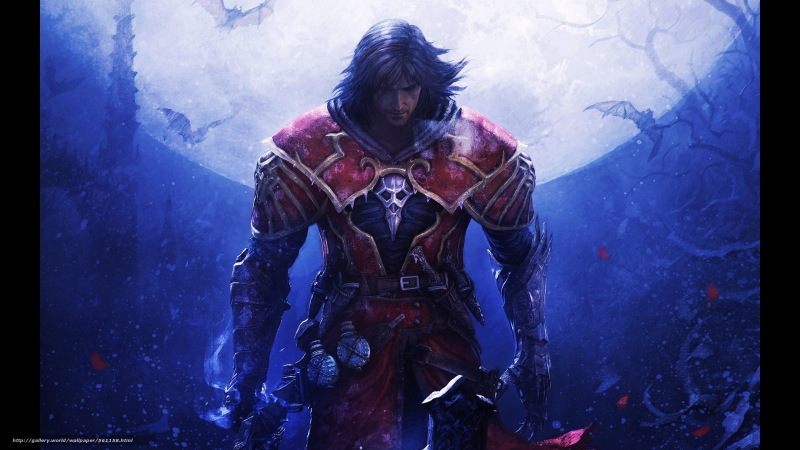 Download Wallpaper Castlevania Game Slasher Prince Of
