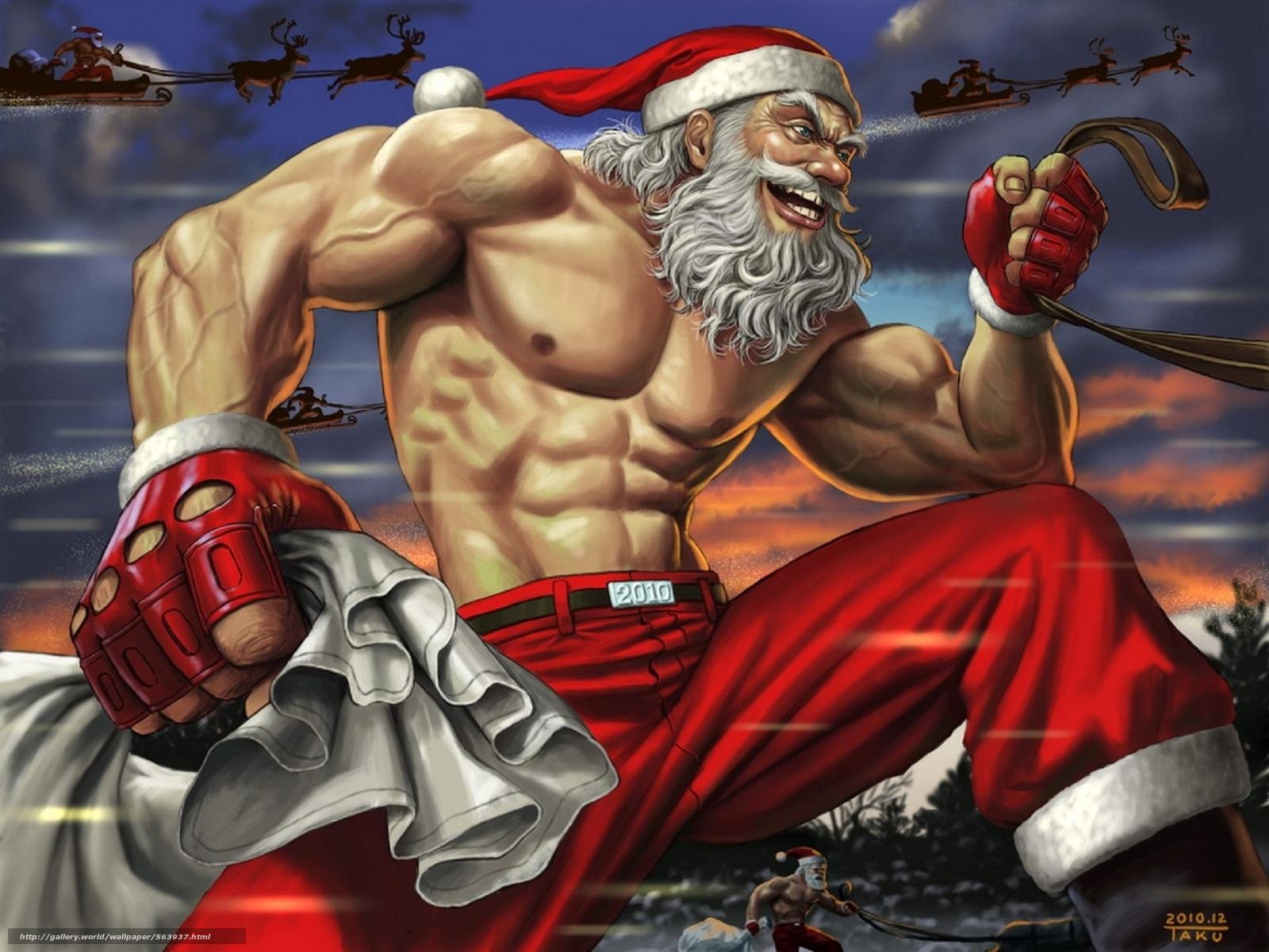 下载壁纸 雪,  新年,  圣诞老人,  运动 免费为您的桌面分辨率的壁纸 1950x1462 — 图片 №563937
