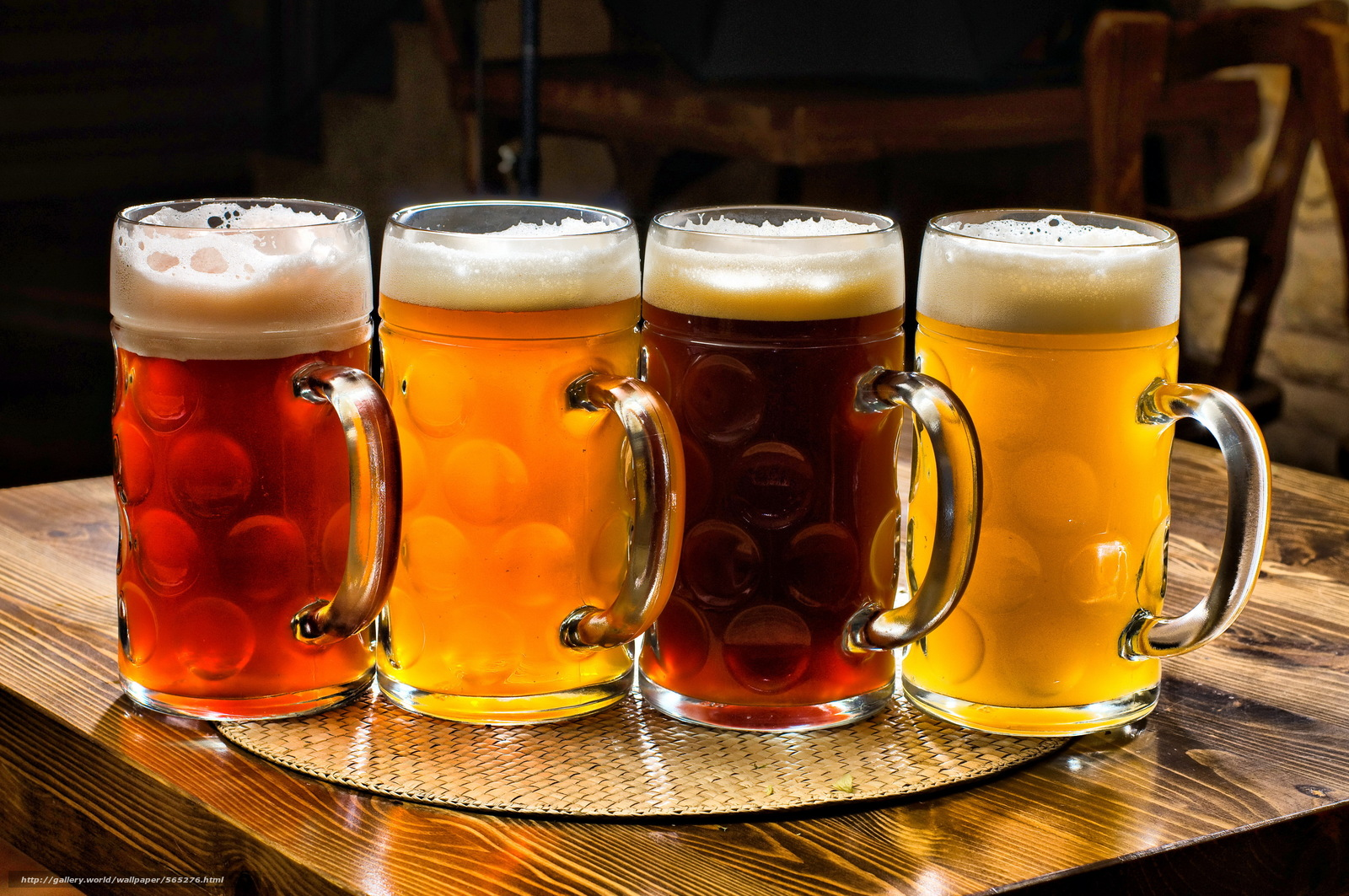 Download wallpaper beer,  table,  COLOR,  stemware free desktop wallpaper in the resolution 4000x2657 — picture №565276