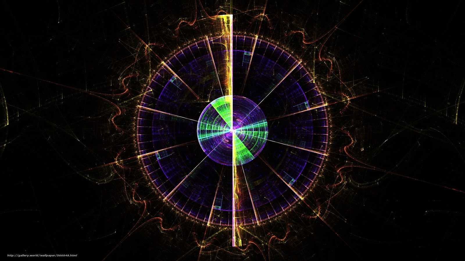 Tlcharger Fond d'ecran abstraction,  окружность,  радар Fonds d'ecran gratuits pour votre rsolution du bureau 1920x1080 — image №566048
