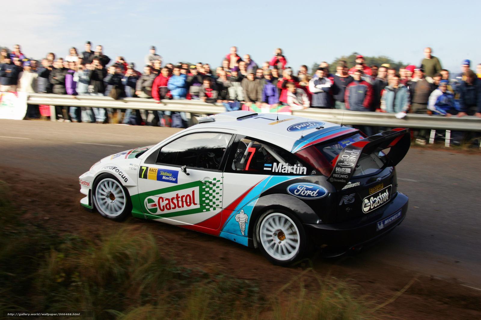 Скачать обои WRC,  2004,  Ford,  Spain бесплатно для рабочего стола в разрешении 1600x1067 — картинка №566468