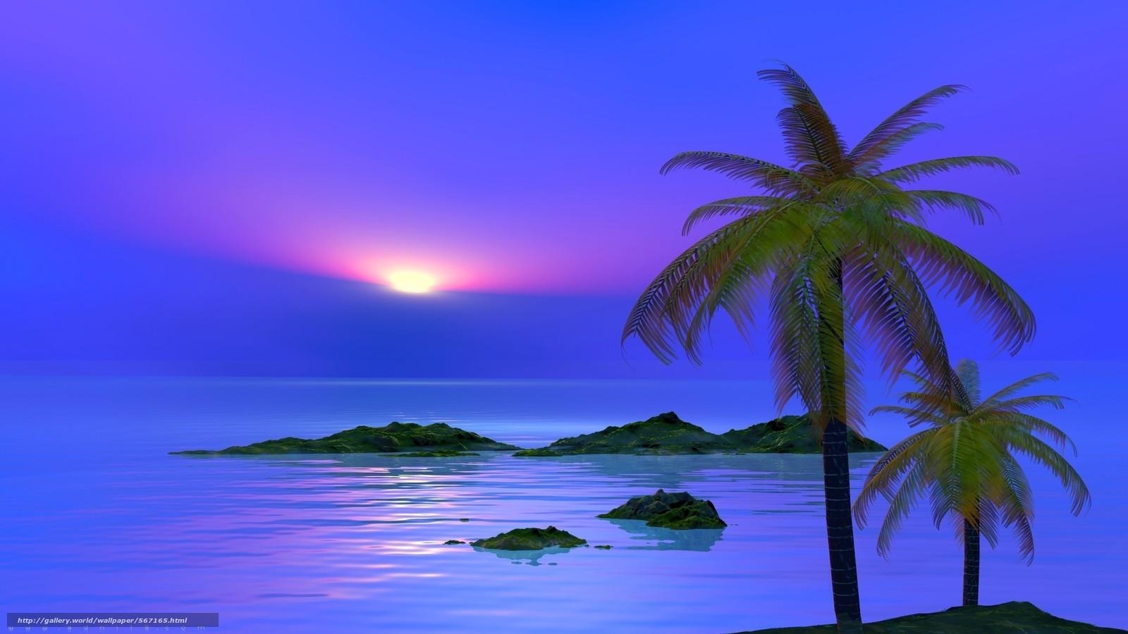 Скачать обои природа,  небо,  море,  пейзаж бесплатно для рабочего стола в разрешении 1920x1080 — картинка №567165