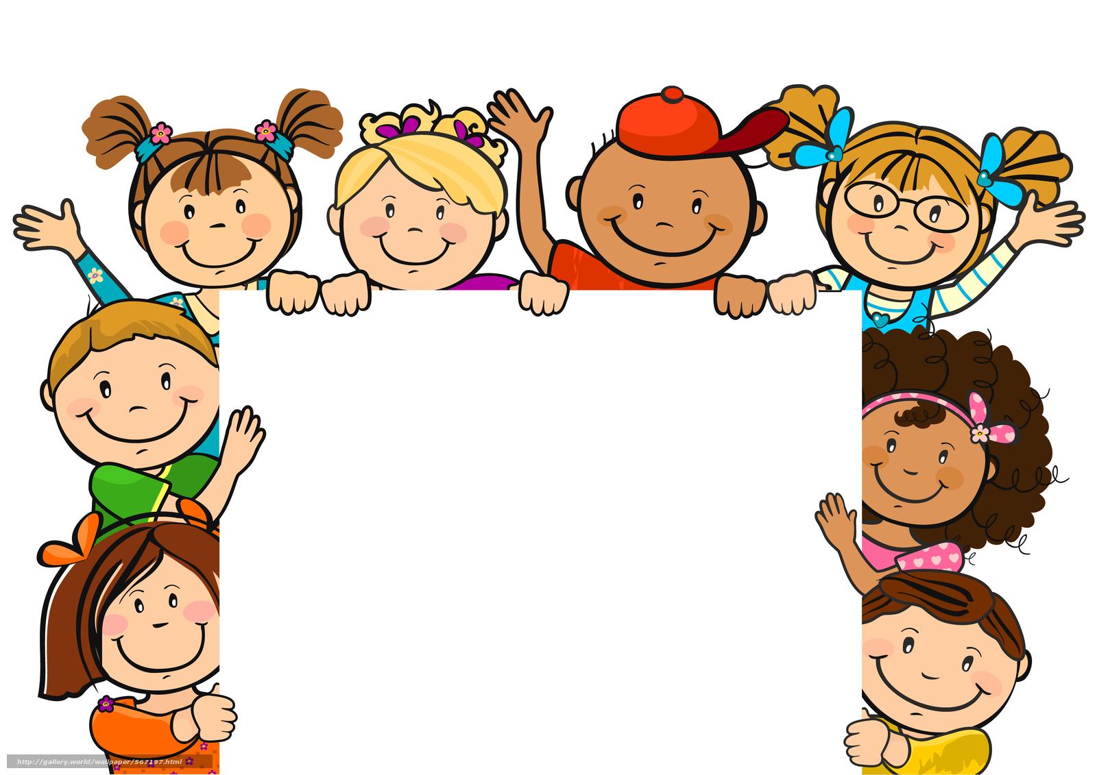 Baixar Wallpaper Photo Frame,  Parabéns,  crianças,  Amigos Papis de parede grtis na resoluo 6000x4240 — quadro №567197
