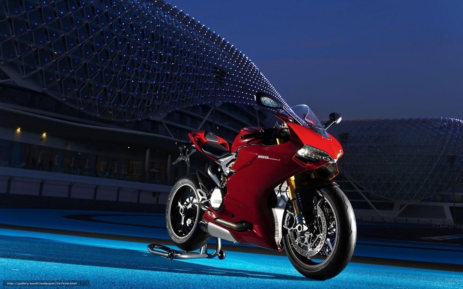 pobra tapety Ducatti,  czerwony,  noc,  Moto Darmowe tapety na pulpit rozdzielczoci 1680x1050 — zdjcie №567620
